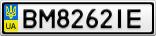 Номерной знак - BM8262IE