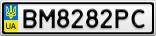 Номерной знак - BM8282PC