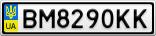 Номерной знак - BM8290KK