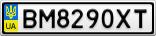 Номерной знак - BM8290XT