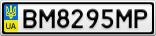 Номерной знак - BM8295MP