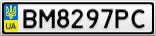 Номерной знак - BM8297PC