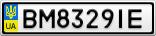 Номерной знак - BM8329IE