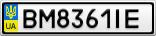 Номерной знак - BM8361IE
