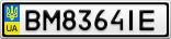 Номерной знак - BM8364IE