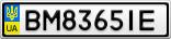 Номерной знак - BM8365IE