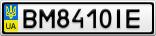 Номерной знак - BM8410IE