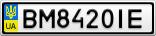 Номерной знак - BM8420IE