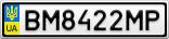 Номерной знак - BM8422MP