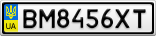 Номерной знак - BM8456XT
