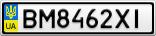 Номерной знак - BM8462XI