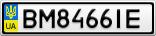 Номерной знак - BM8466IE