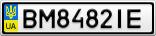 Номерной знак - BM8482IE