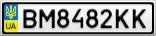 Номерной знак - BM8482KK