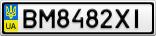 Номерной знак - BM8482XI