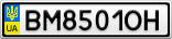 Номерной знак - BM8501OH