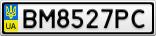 Номерной знак - BM8527PC