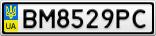 Номерной знак - BM8529PC