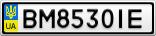 Номерной знак - BM8530IE