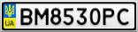 Номерной знак - BM8530PC