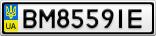 Номерной знак - BM8559IE