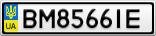 Номерной знак - BM8566IE