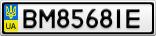 Номерной знак - BM8568IE