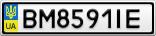 Номерной знак - BM8591IE