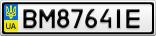 Номерной знак - BM8764IE
