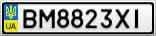 Номерной знак - BM8823XI