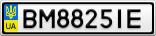 Номерной знак - BM8825IE
