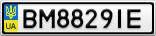 Номерной знак - BM8829IE