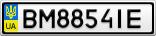 Номерной знак - BM8854IE