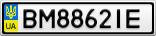 Номерной знак - BM8862IE