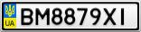 Номерной знак - BM8879XI
