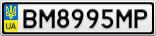 Номерной знак - BM8995MP