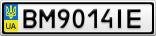 Номерной знак - BM9014IE