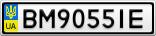 Номерной знак - BM9055IE
