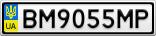 Номерной знак - BM9055MP