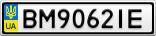 Номерной знак - BM9062IE