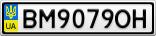 Номерной знак - BM9079OH