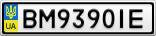 Номерной знак - BM9390IE
