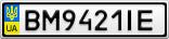 Номерной знак - BM9421IE