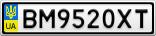 Номерной знак - BM9520XT