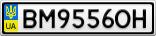 Номерной знак - BM9556OH