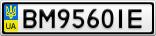 Номерной знак - BM9560IE