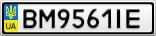 Номерной знак - BM9561IE