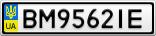 Номерной знак - BM9562IE