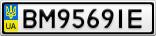 Номерной знак - BM9569IE