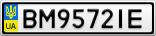 Номерной знак - BM9572IE